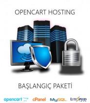 Opencart Uyumlu Hosting Baslangic Paketi