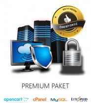 Opencart Uyumlu Hosting Premium Paket