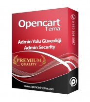 Opencart Admin Yolunu Değiştirme ve Güvenlik Modülü