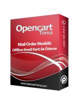 Opencart Mail Order Modülü