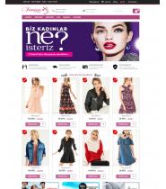 Opencart Tekstil Ayakkabı Satış Teması