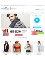 Opencart Moda İç Giyim Elbise Temasi