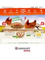 Opencart Yiyecek icecek Kurumsal Site Kurumsal Tema