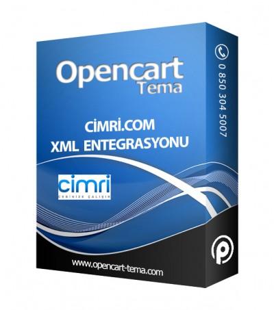 Opencart Cimri.com XML Entegrasyonu