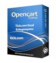 Opencart Ticiz Excel Entegrasyonu